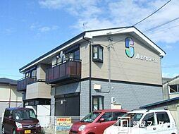 愛知県豊田市上挙母3丁目の賃貸アパートの外観
