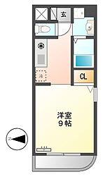 Ma Maison Rever(マ・メゾン・リヴェール)[3階]の間取り