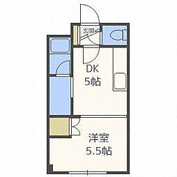 ドマーニ16[3階]の間取り