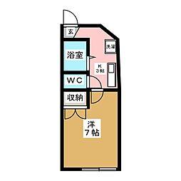 Winston116[1階]の間取り
