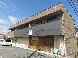 三重県松阪市春日町3丁目の賃貸アパートの外観