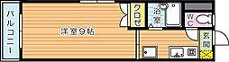 ステージア祇園[3階]の間取り