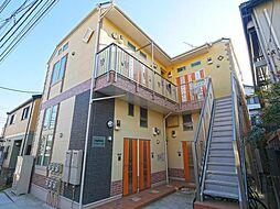 神奈川県横浜市港南区大久保3の賃貸アパートの外観