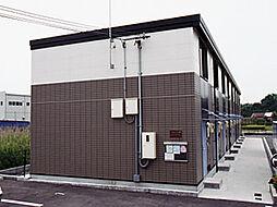 兵庫県姫路市飾磨区妻鹿の賃貸アパートの外観