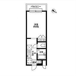 和田ハイツ[203号室]の間取り
