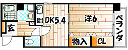 上野マンション[2階]の間取り