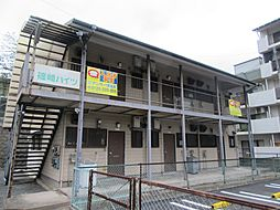 福岡県北九州市小倉北区篠崎1丁目の賃貸アパートの外観