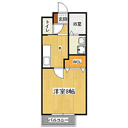 Heights TANAKA site1[1階]の間取り