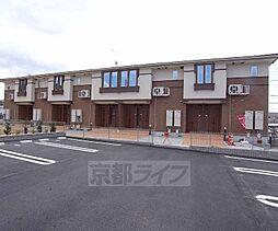 京都府木津川市州見台1丁目の賃貸アパートの外観