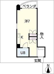 アイリス35[2階]の間取り