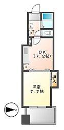 メゾンバリエ[9階]の間取り