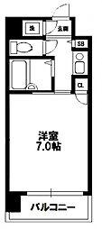 City Life 新大阪[7階]の間取り