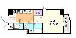 (仮)D-Room東高砂[401号室]の間取り