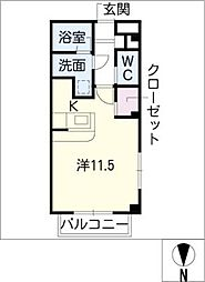 Residence四季[1階]の間取り