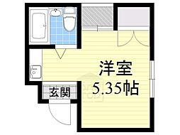 collection城北2[1階]の間取り