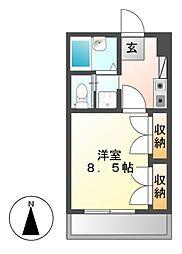 ソネットホンダ[2階]の間取り
