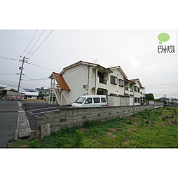 岡山県岡山市中区藤原西町2の賃貸アパートの外観