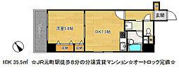 ライオンズマンション神戸元町第5[8階]の間取り