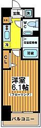 東京都杉並区下高井戸2丁目の賃貸マンションの間取り