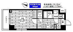 ステージグランデ生田駅前[4階]の間取り