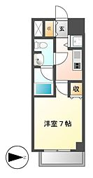 カレント新栄[8階]の間取り