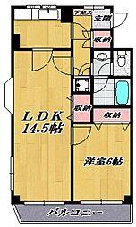 ELM-K9[301号室号室]の間取り