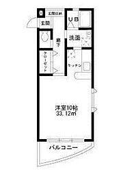 Mステージ[2階]の間取り