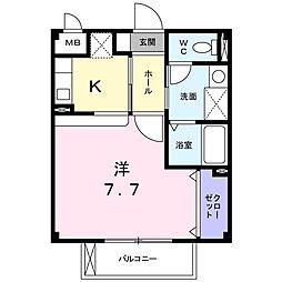 タイガ[2階]の間取り