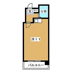アルディコンテ'21[5階]の間取り