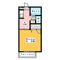 アート林[1階]の間取り
