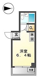 グランデ上飯田[1階]の間取り
