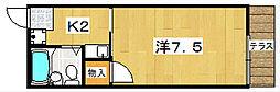 ハイツ殿山台[1階]の間取り