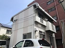 福岡県福岡市中央区荒戸3丁目の賃貸アパートの外観