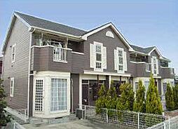 兵庫県姫路市網干区浜田の賃貸アパートの外観