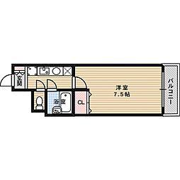 プレリュード津之江[2階]の間取り