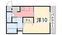 ヴィラナリー加古川[3階]の間取り