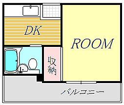 藤ハイム[2階]の間取り