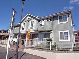 ハニーヴァレー弐番館[1階]の外観