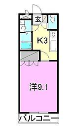 Fortia Y&Y[106 号室号室]の間取り
