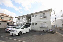 岡山県岡山市南区豊浜町の賃貸アパートの外観