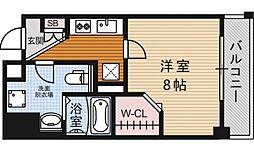 アクロス京都西大路[2F号室号室]の間取り