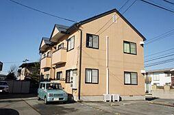山形県山形市東青田3丁目の賃貸アパートの外観