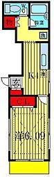 ラウムハウス[1階]の間取り