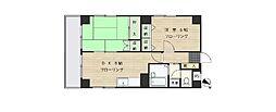 大倉山エステハイツ第3[104号室]の間取り