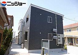 愛知県あま市篠田北長無の賃貸アパートの外観