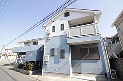 神奈川県藤沢市鵠沼海岸7丁目の賃貸アパートの外観