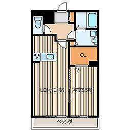 神奈川県藤沢市辻堂太平台2丁目の賃貸マンションの間取り