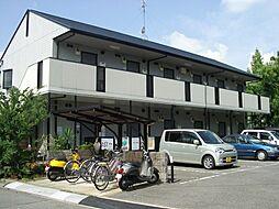 大阪府茨木市横江2丁目の賃貸アパートの外観