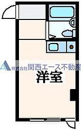 アンビション三和[5階]の間取り