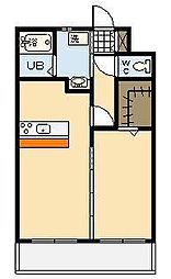 (新築)永楽町マンション[206号室]の間取り